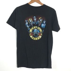 Guns N Roses Skeleton T-shirt